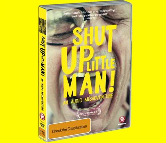 Shut Up Little Man DVD