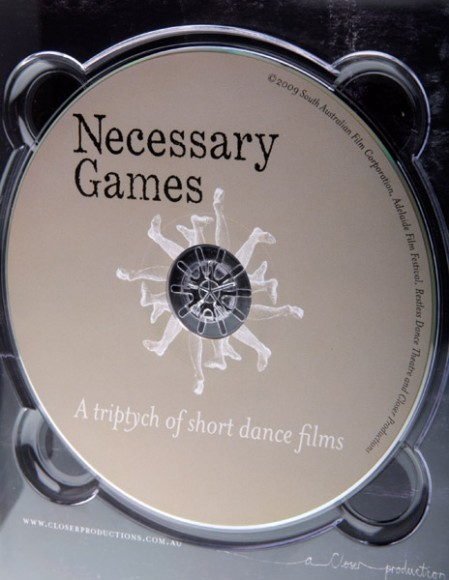 Necessary Games DVD